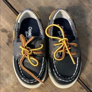 OshKosh B'Gosh Toddler Boy Leather Boat Shoes